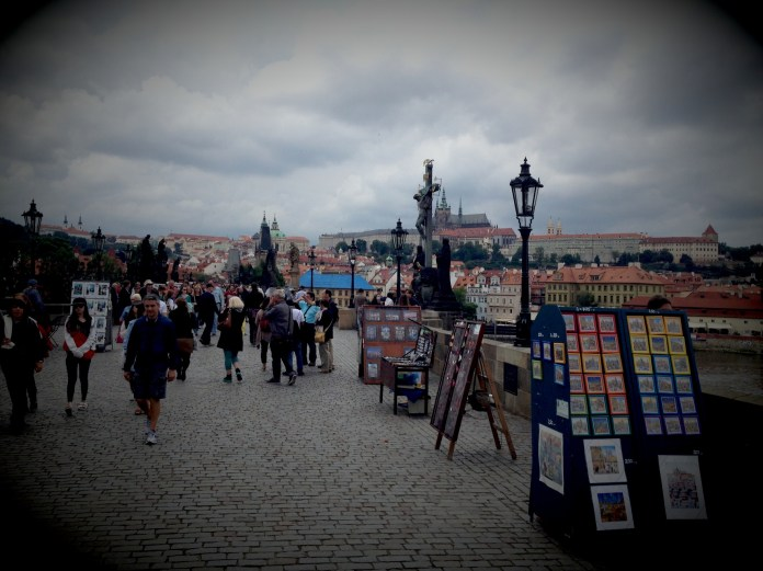 Staying classic with something classical from the Charles Bridge.
