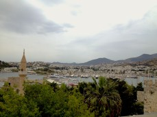 Panoramic views from the Bodrum castle