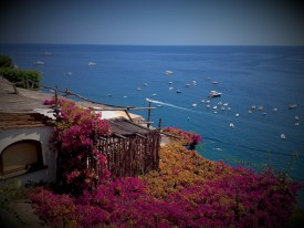Idyllic views from Positano uphill