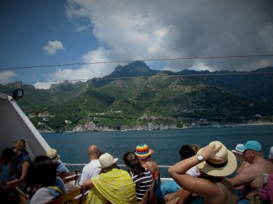 The fastest way to get to the tows of Amalfi Coast is by taking a ferry