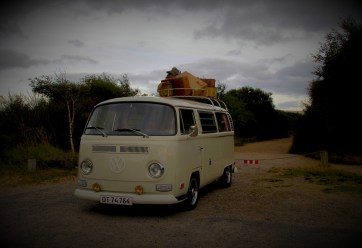 What about a dream trip by hippie bus?