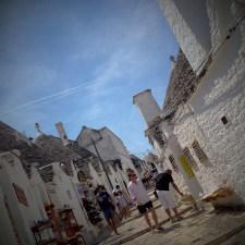 Tiny streets of Alberobello