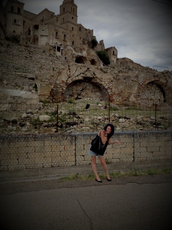 Me in Craco