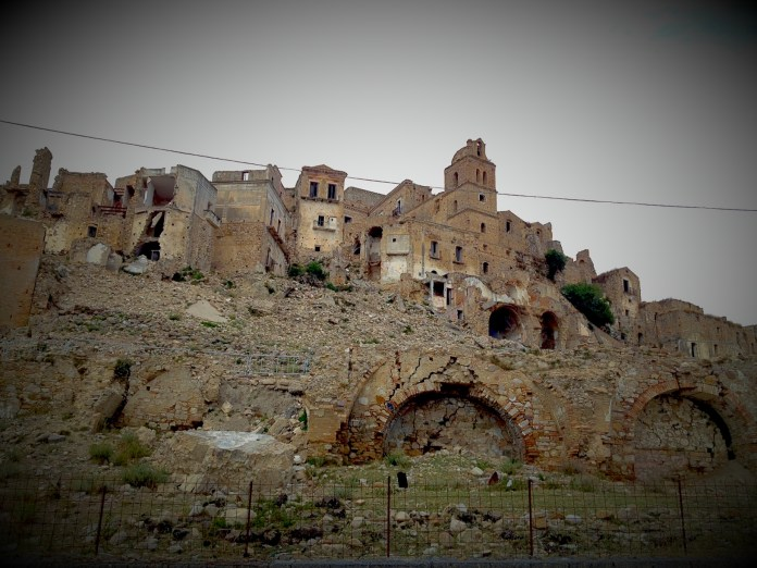Abandoned ghost town of Craco, Italy