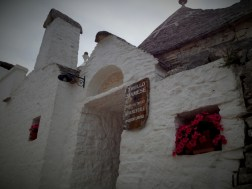 The trullo Siamese - one of the oldest trulli house in Alberobello, which may be built around 15th century. Now it stands as a tiny shop.