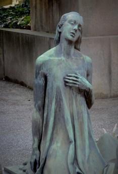 Monumental cemetery in Milan