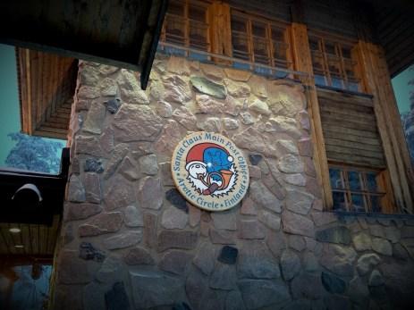 Santa Claus Post Office at the Arctic Circle in Rovaniemi, Lapland.