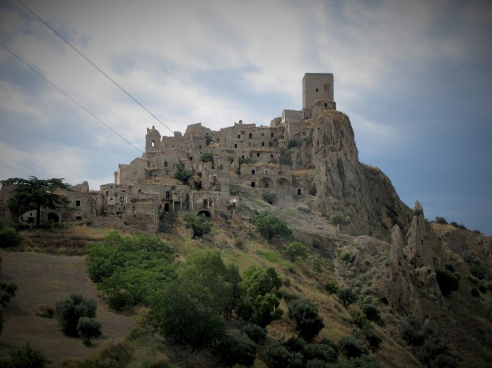 Ghost town of Craco