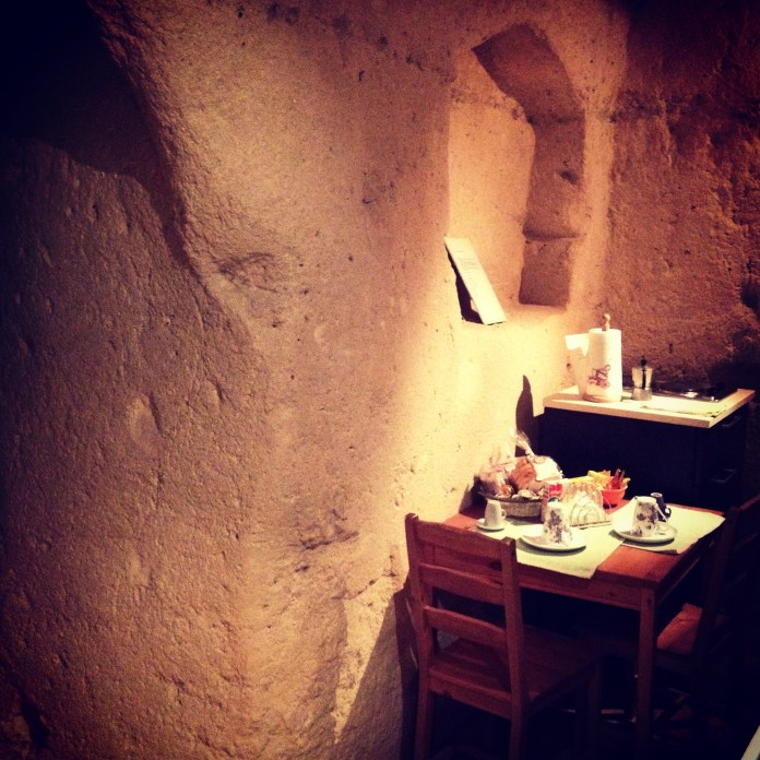 Apartment in the cave, Matera