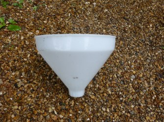 2. 10 inch trimmed funnel