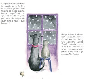 Betty & Cat - Book Page Sample