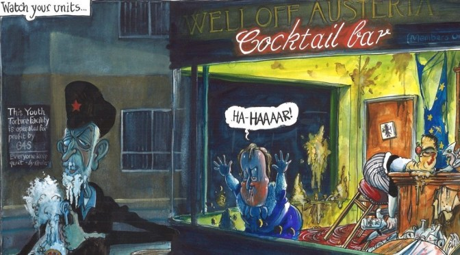 Political Cartoons by Martin Rowson: Wednesday 10th February 2016