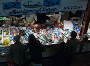 Pescadería. Fotografía de Esti Álvarez. En Vitoria, País Vasco.