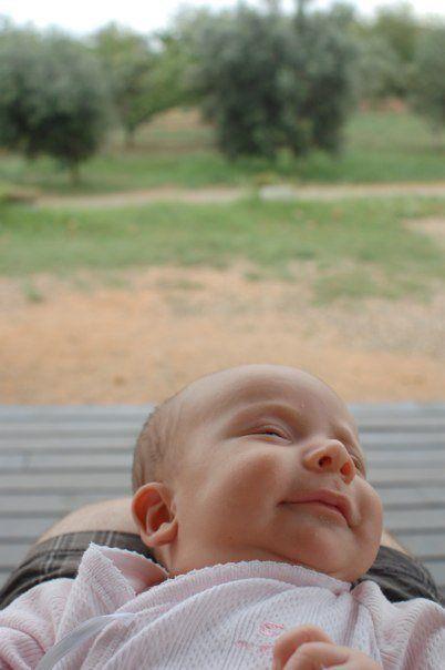 Contemplando el campo. Septiembre 2010