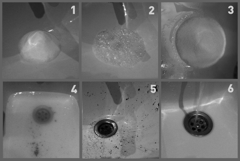Desatascar con vinagre y bicarbonato de sodio