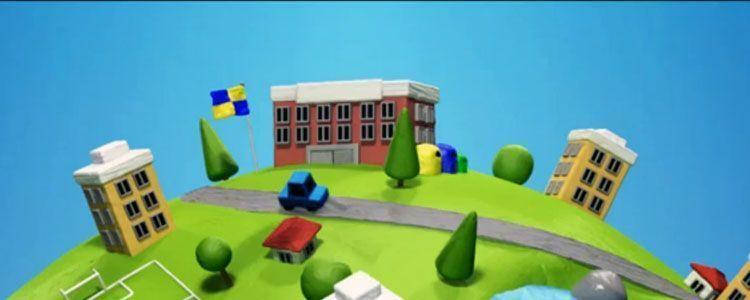 Imagen del corto ecológico basuria, sobre Reciclaje.