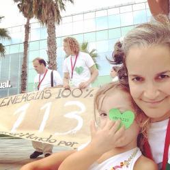 Ecocosmopolita y firmas de Avaaz al fondo