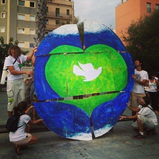Mosaico People's Climate Barcelona