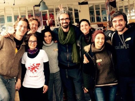 Representantes de España en el Climate Skillshare organizado por Greenpeace