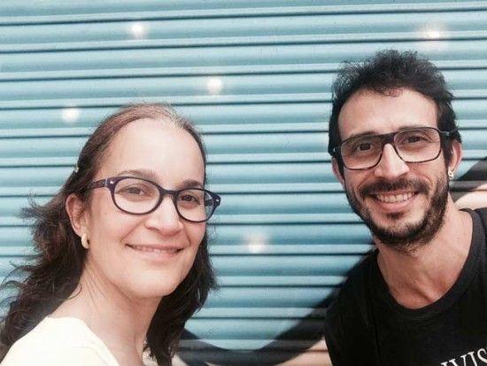 Carmelo Carrillo e Yve Ecocosmopolita de 350 BCN