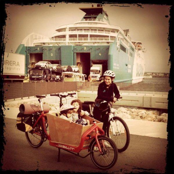 Vajar en bici es más sostenible!