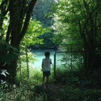 Rio Le clain, de camping en Francia con niños