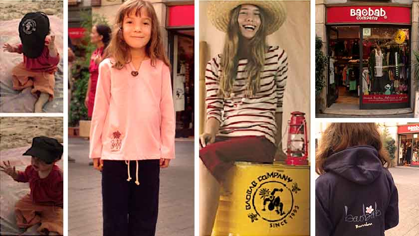 Baobab company, moda sostenible y de comercio justo en Barcelona