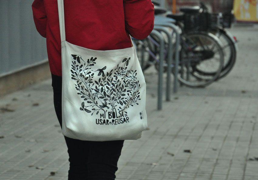 bolsa de compras con algodón de Organic Cotton Colours