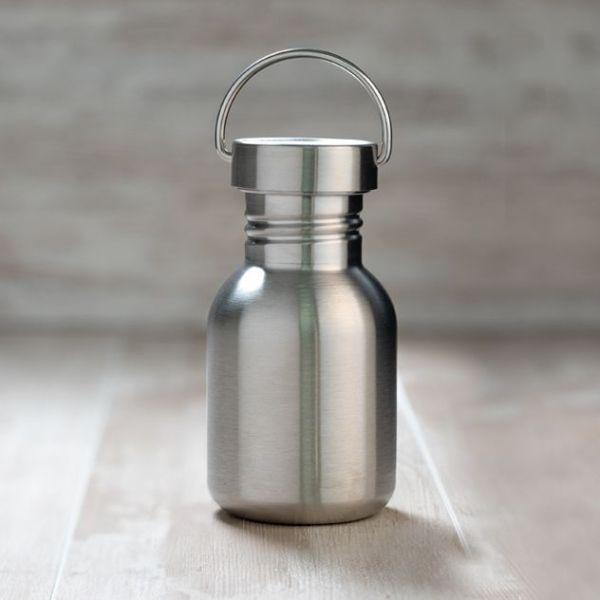 botella-basic Steel Acero 350 ml