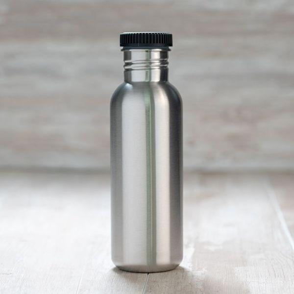 Botella de acero inoxidable Basic Steel 750ml laken