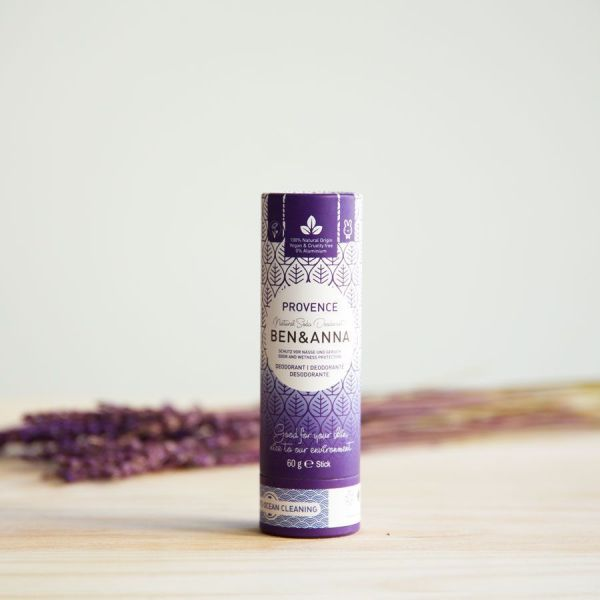 Desodorante sólido Provence sin plástico.