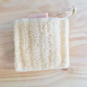 esponja estuche para jabones de Luffa