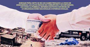 Violencia, corrupción, pobreza… índices nacionales y extranjeros le toman foto al legado de Peña