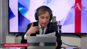 """AMLO llamó """"espurio"""" a Calderón y siempre alegó imposición y fraude: Aristegui sobre dichos de Madrazo"""