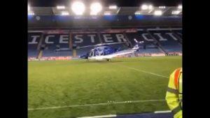 Captan desplome mortal del helicóptero del dueño del Leicester City