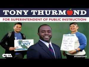 Educators Support Tony Thurmond for SPI