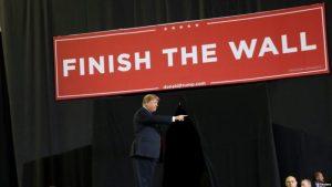 Trump: cierre de gobierno mostró lo que ocurre en la frontera