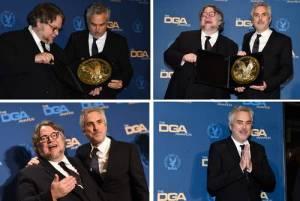 """Sindicato de Directores de EU premia a Alfonso Cuarón por """"Roma"""""""