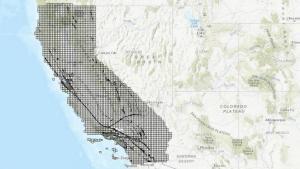 Mapa muestra zonas vulnerables a terremotos en California