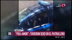 Investigan video de oficial en pleno acto sexual dentro de una patrulla de policía de Santa Ana