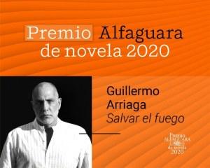 El mexicano Guillermo Arriaga gana el Premio Alfaguara con la novela 'Salvar el fuego'
