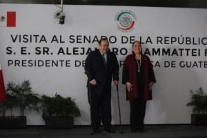 """""""Muros de Prosperidad"""", pide presidente de Guatemala a México para frenar la migración a EU"""