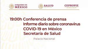 #EnVivo: Reporte sobre COVID-19 en México. 31 mayo