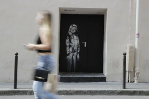 Detienen a seis personas por robo de una obra de Banksy