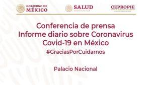 #EnVivo: Repoorte diario sobre COVID-19 en México. 1 de julio.