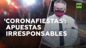 Video: Estudiantes en EU organizan 'fiestas covid' con personas infectadas y el primero en contagiarse se lleva el premio
