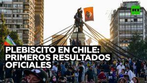 """Videos: Arrasa el """"Apruebo"""": la mayoría de los chilenos está a favor de una nueva Constitución, según el escrutinio definitivo"""
