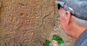 Video: Grabados en piedra hallados en Puebla revelan similitudes con pinturas rupestres en España