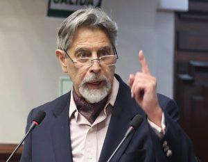 Francisco Sagasti, tercer presidente en una semana en Perú