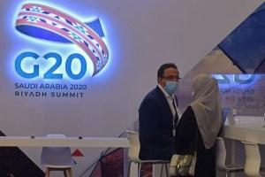 """Promete G20 """"no escatimar esfuerzos"""" para acceso equitativo a la vacuna contra Covid-19"""